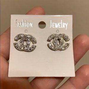 Double c earrings